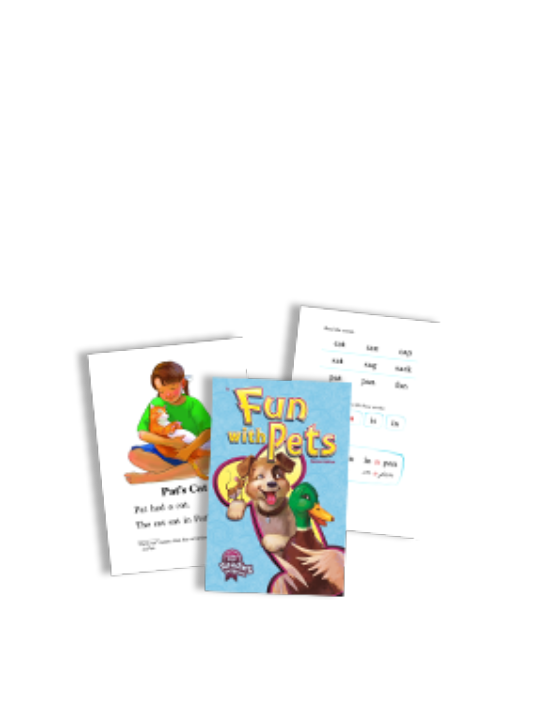 Children's book about pets