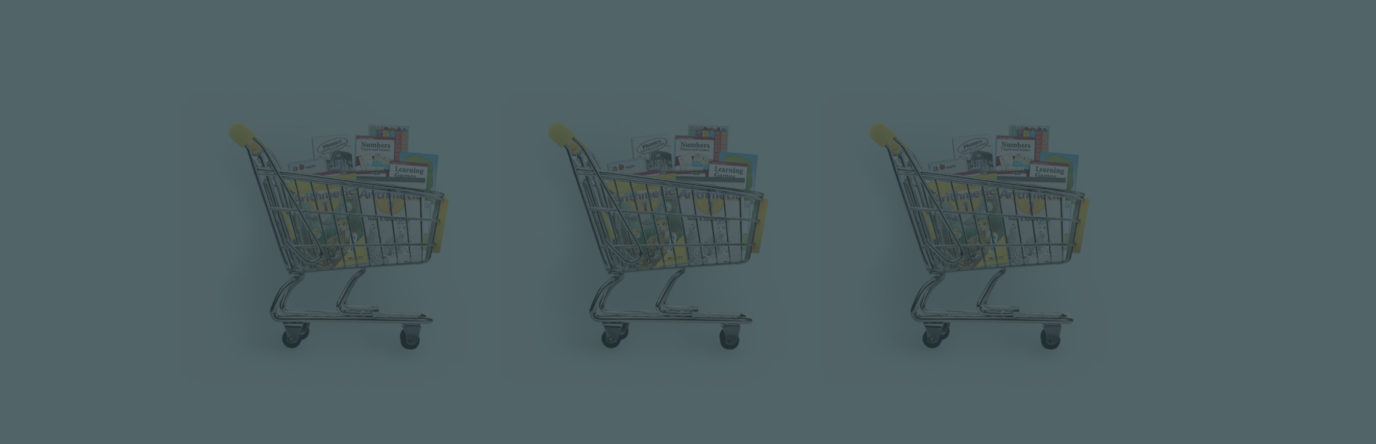 Shopping carts of Abeka products